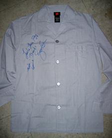 Jon Gries Autographed PJs 1